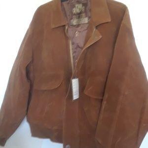 NWT CV Suede Jacket Made in Italy M